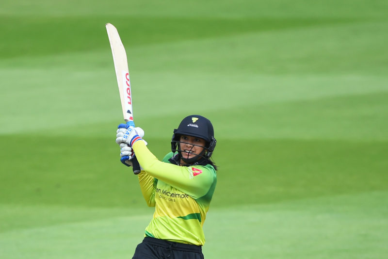 Smriti Mandhana, Storm's in-form batter, fell for just five