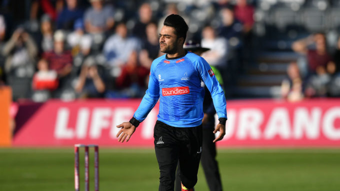 Rashid Khan re-signs for Sussex in T20 for 2019