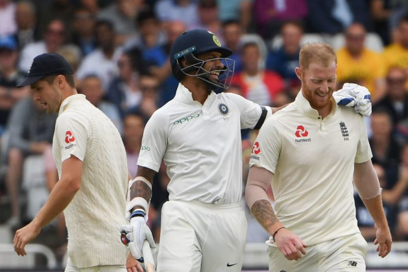 Shikhar Dhawan and Ben Stokes