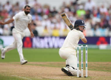 England batsmen falter as India push for victory