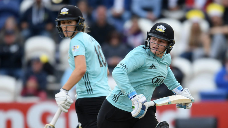 Sciver showed the way in the semi-final, while Lee was the star of the win in the final