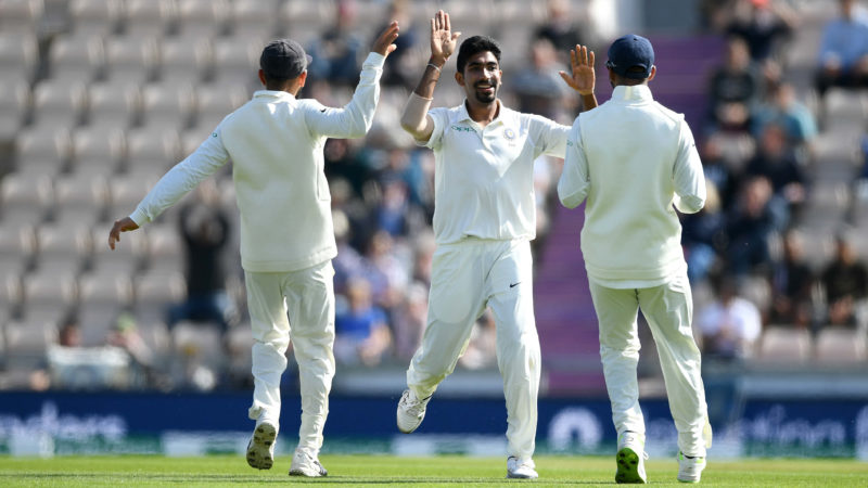 Bumrah picked up 3-46 in the England first innings