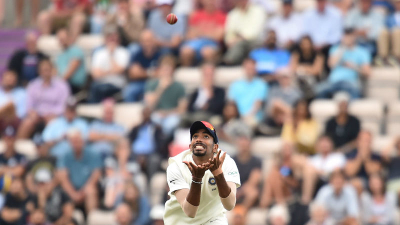 Bumrah took a sharp, tumbling catch to send back Moeen Ali