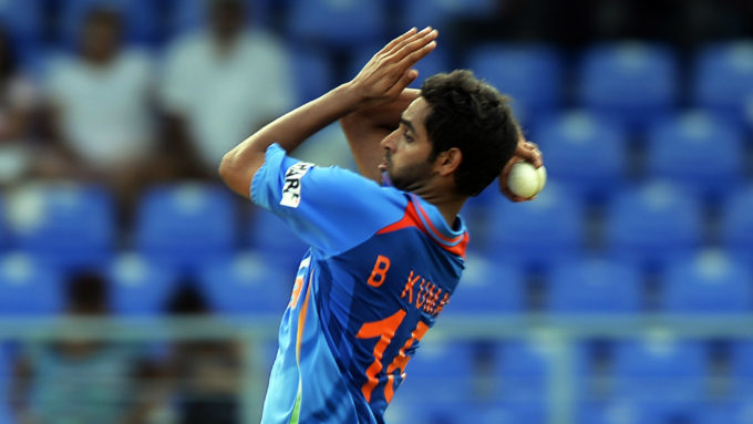 How did Bhuvneshwar Kumar go on his return to action?