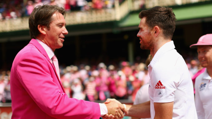 McGrath will be 'equally proud' when Anderson goes past his mark