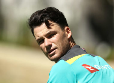 Spin or not, Peter Handscomb is trying to 'win every ball, win every contest'