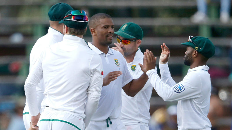 Philander had Handscomb's number in the fourth Test in South Africa earlier this year