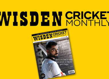 Wisden Cricket Monthly issue 11: Virat Kohli exclusive interview