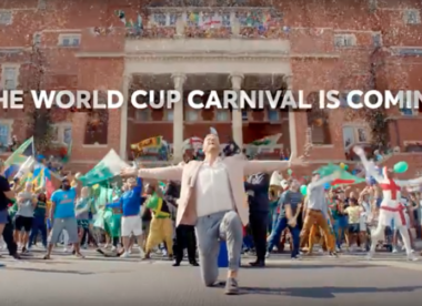 Watch: Andrew Flintoff launches 2019 World Cup... with a song