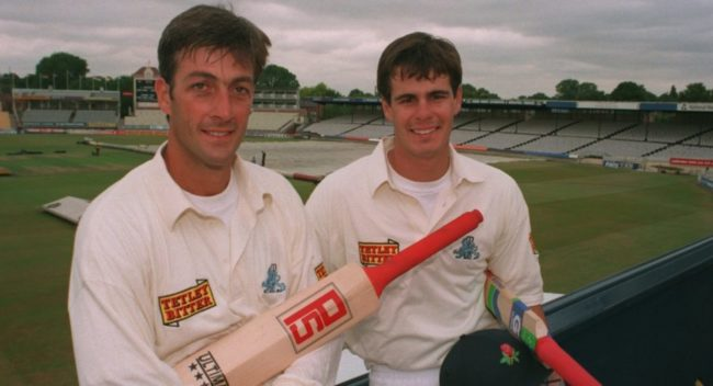 Can you name these England batsmen from the 1990s?