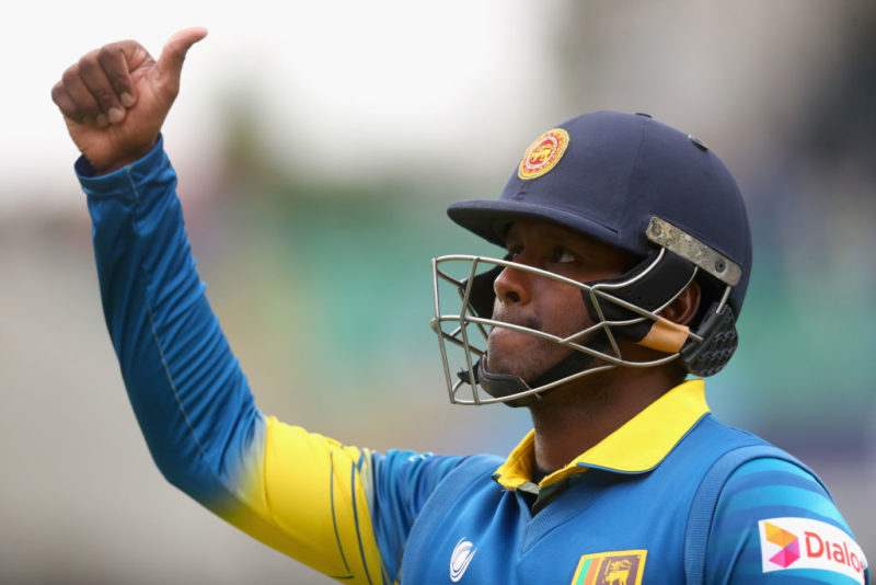 Angelo Mathews led Sri Lanka to their fifth Asia Cup title in 2014