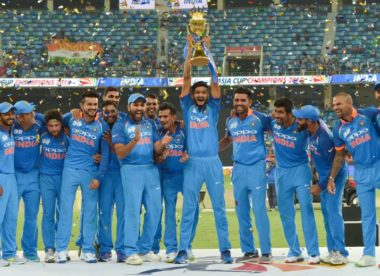 Rohit Sharma hails dominant showing in tough conditions