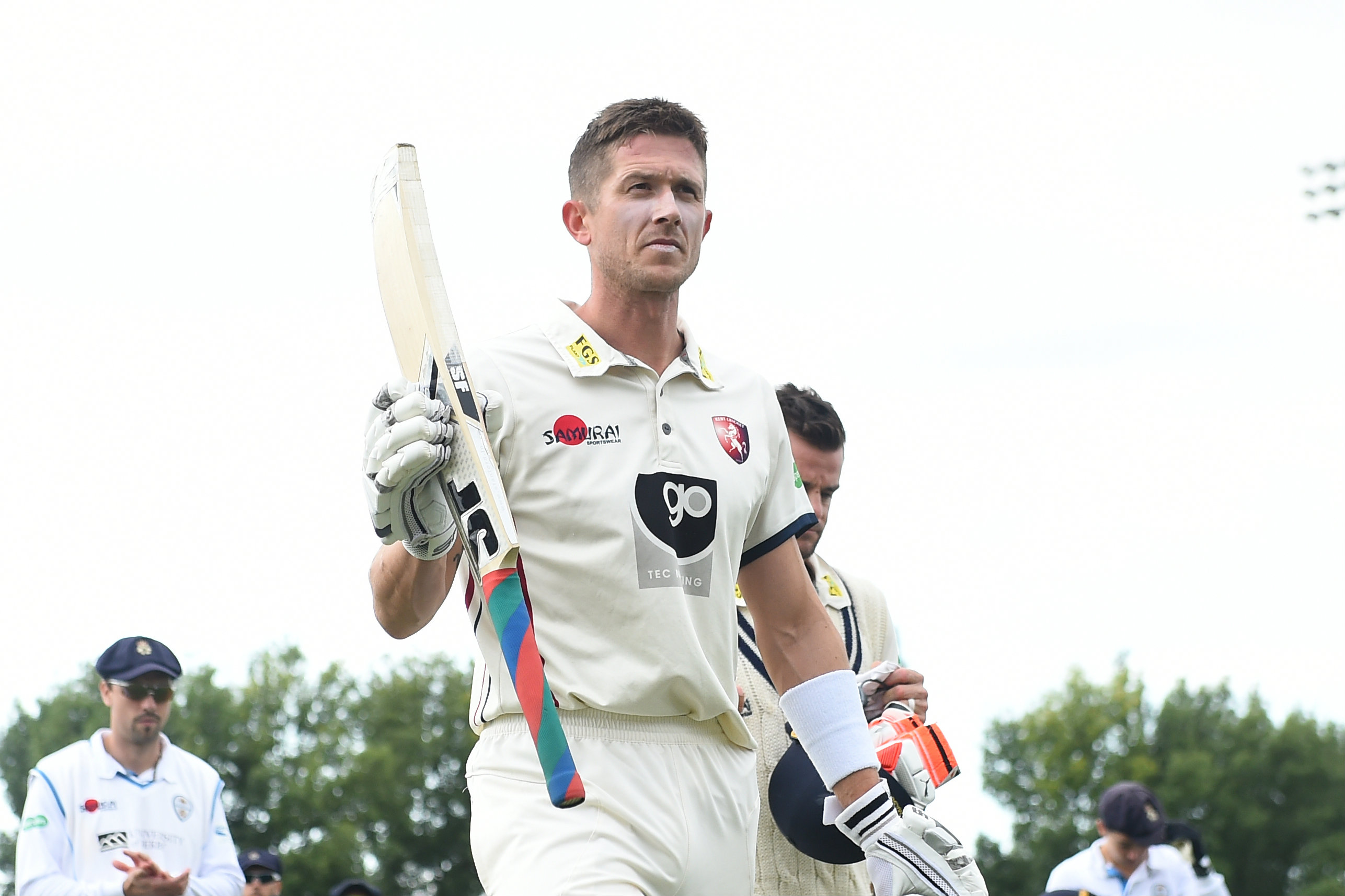 Denly scored 798 runs, including three hundreds and as many half-centuries for Kent this year