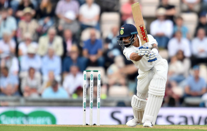 Kohli has been the standout batsman in the series in England