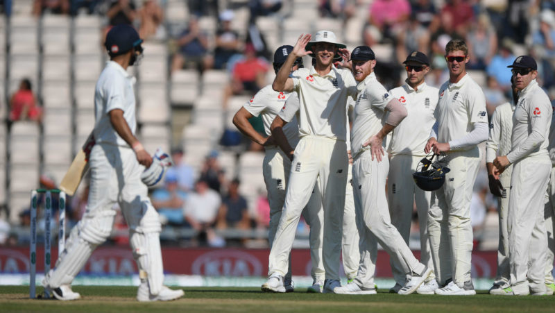 Bye-bye India! England tightened the noose after Kohlis dismissal