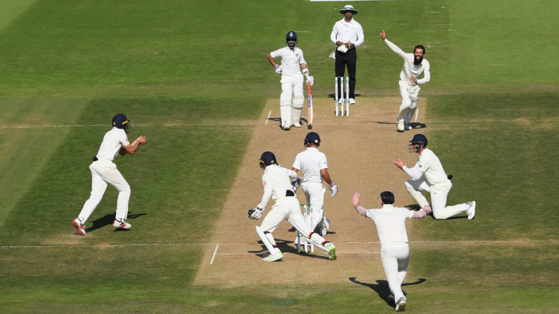 When the match turned – Ali's wicket of Kohli swung the game England's way