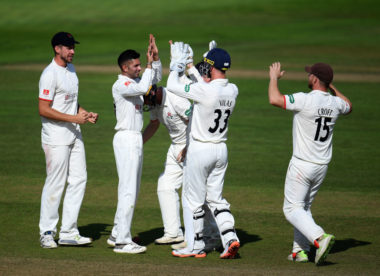 Somerset and Lancashire share thrilling tie at Taunton