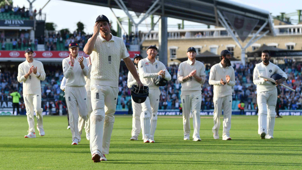 Cook retired from England last year, but will continue playing county cricket
