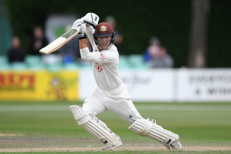 Rory Burns, the Surrey captain, is the leading run-scorer in this year's County Championship.