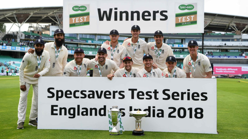 England took the series 4-1 after beating India by 118 runs in the final Test