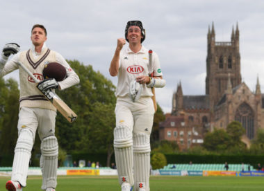 Surrey win the 2018 County Championship after victory at New Road