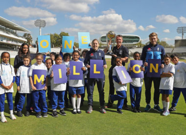 1 million children: ECB's plan to use 2019 World Cup to boost game