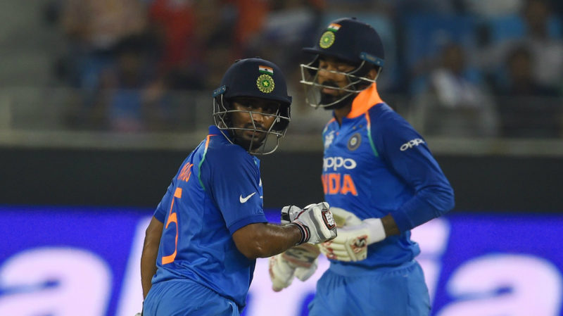 India couldnt build on the 100-run stand between KL Rahul and Ambati Rayudu for the first wicket