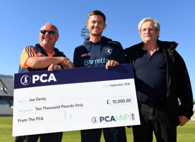Joe Denly crowned PCA Most Valuable Player 2018