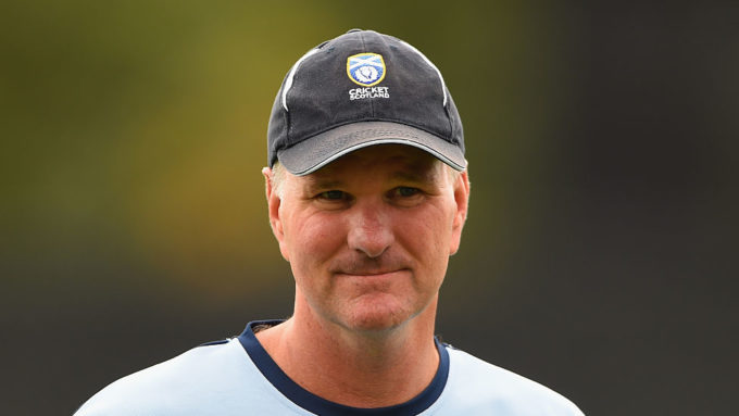 Scotland coach Grant Bradburn quits for Pakistan role