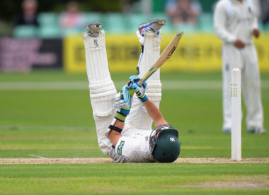 Worcestershire relegated to Division Two of the County Championship