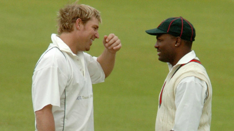 """""""It was a battle I just embraced in some of the largest cricketing arenas"""" – Lara on facing Warne"""
