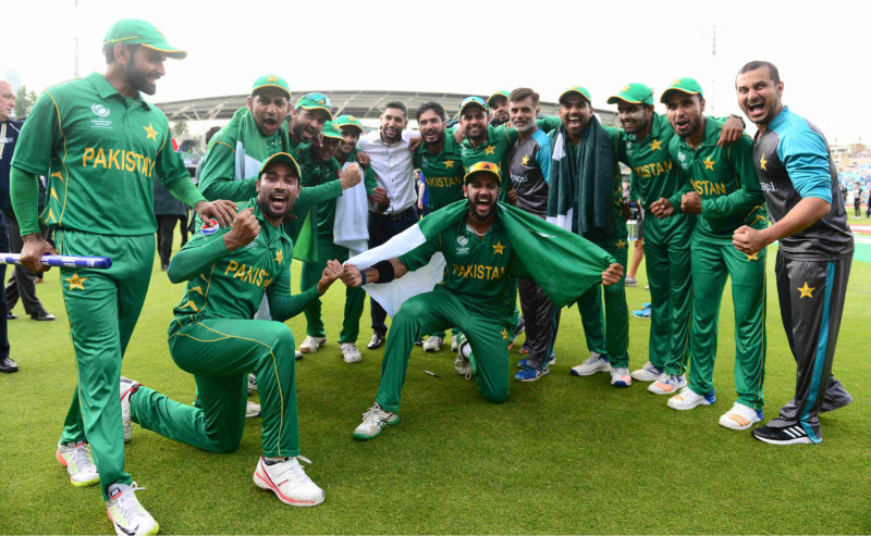 Pakistan won the last major ICC event, the Champions Trophy 2017