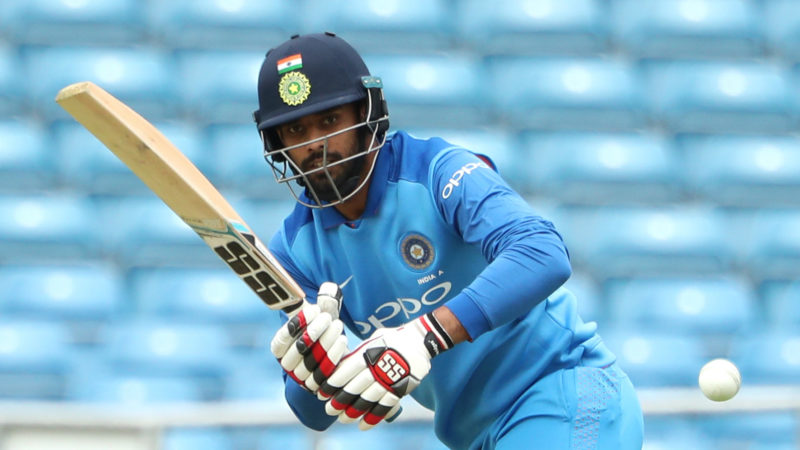 Vihari was picked up for the Tests after a pile of runs in Indian domestic cricket and for India A