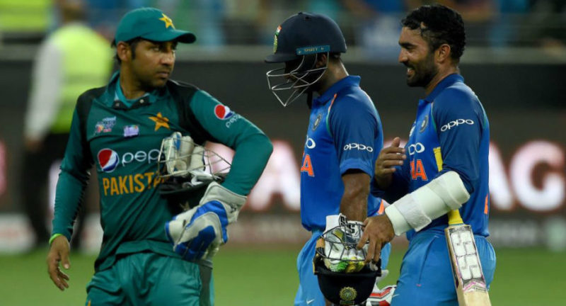 India and Pakistan last met during the Asia Cup 2018