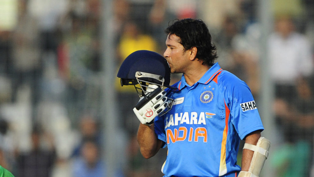 Sachin Tendulkar's 100th international century was brought up during the 2012 Asia Cup