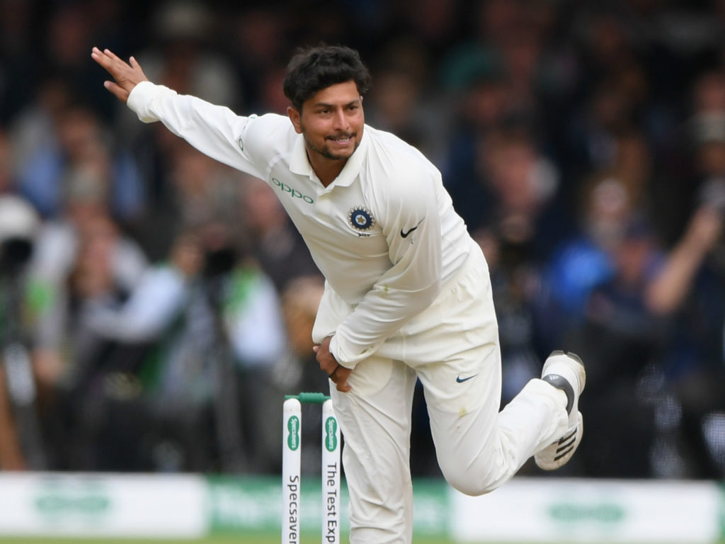 Kuldeep Yadav went wicketless and conceded 44 runs in his nine overs at Lord's