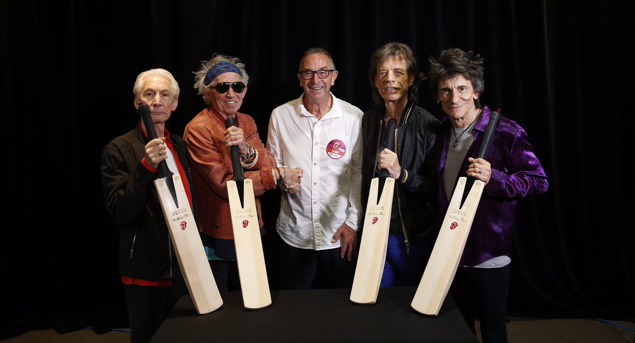 rolling stones release new cricket bat with gray nicolls pro direct. Black Bedroom Furniture Sets. Home Design Ideas