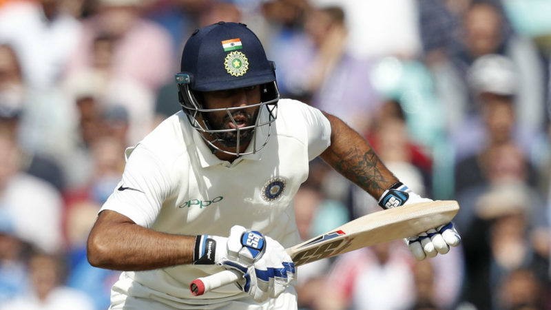 Vihari made a good start to his international career in the fifth Test against England