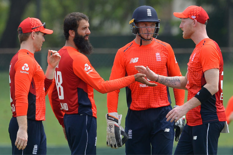 Moeen Ali shone with the ball, finishing with figures of 3-42