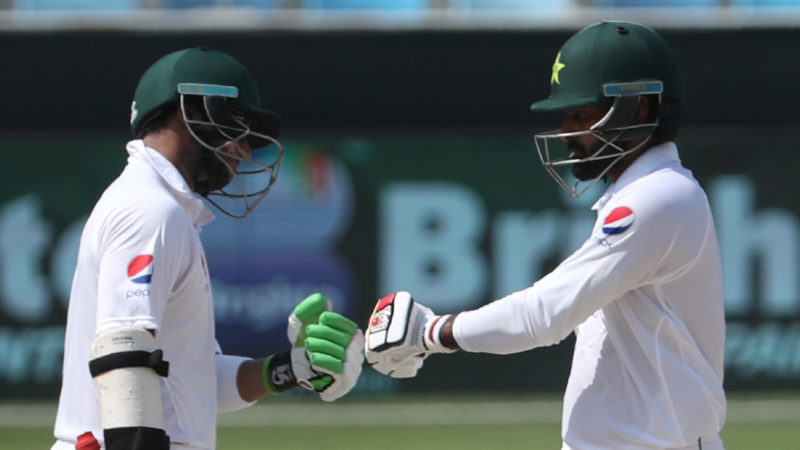 Imam-ul-Haq and Hafeez put on 205 runs for the first wicket