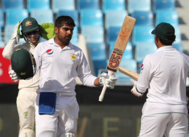 Pakistan happy with total after Haris Sohail's 'significant' maiden Test century