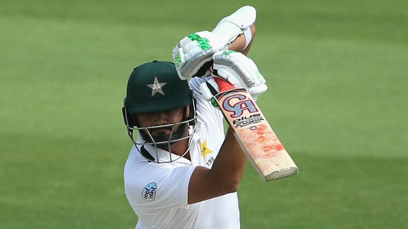 Azhar Ali scored a crucial 64