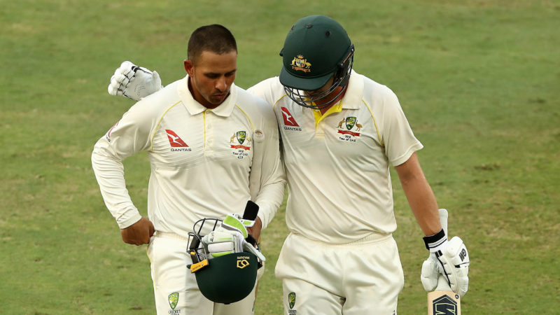 Khawaja and Head will begin the final day hoping to bat on for as long as possible