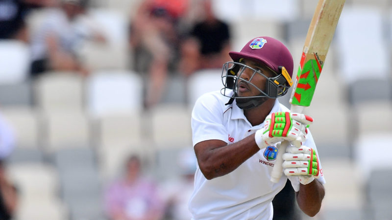 Ambris warmed up for the first Test with a century in the tour game