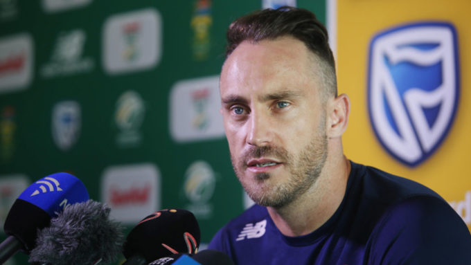 'It's in the past' – du Plessis won't sledge Australia over ball-tampering