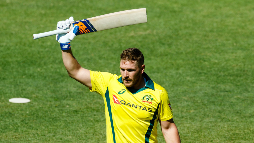 Finch will lead Australia at the World Cup