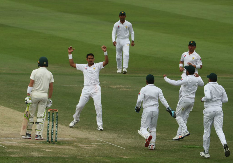 Pakistan bounced back from 57/5 to win by a record margin of 373 runs