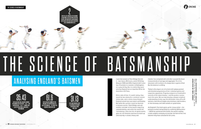 The science of batsmanship