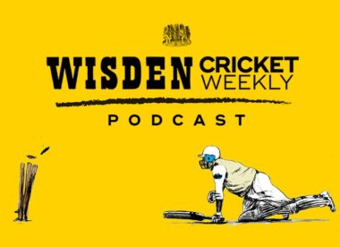 Listen: Wisden Cricket Weekly podcast – Episode two