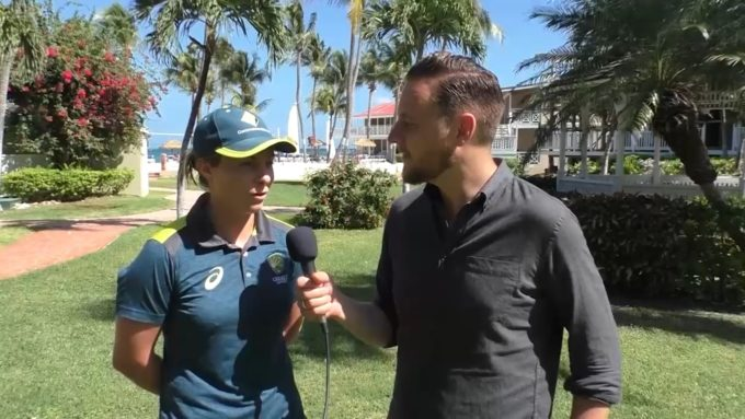 Women's World T20: 'It's still quite surreal that I'm here in a World Cup' – Sophie Molineux